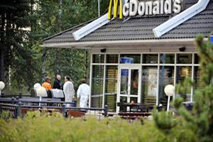 Helsinki Murder at McDonald's